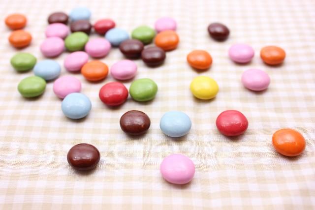 糖衣チョコ