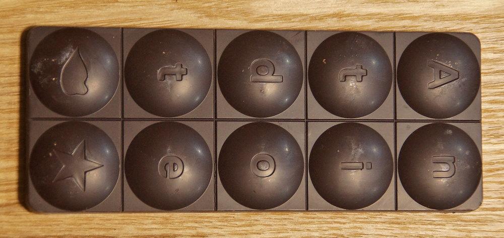 アンチドートチョコレート モールド