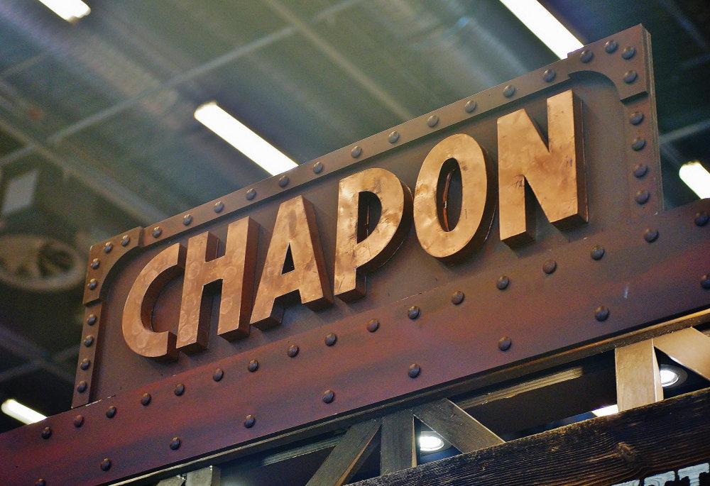 CHAPON パリ サロンデュショコラ