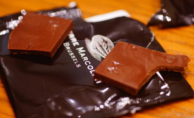 マルコリーニ 薄いチョコレート
