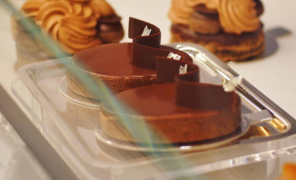 ラデュレ チョコレートケーキ