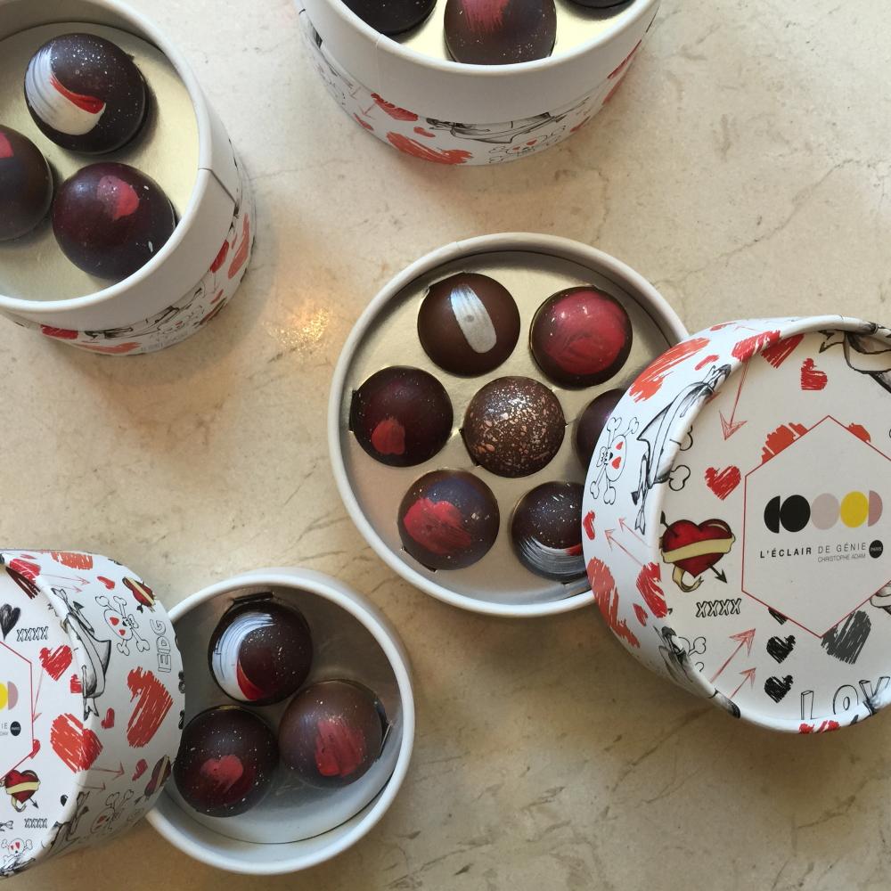 レクレール・ドゥ・ジェニ 新作チョコレート