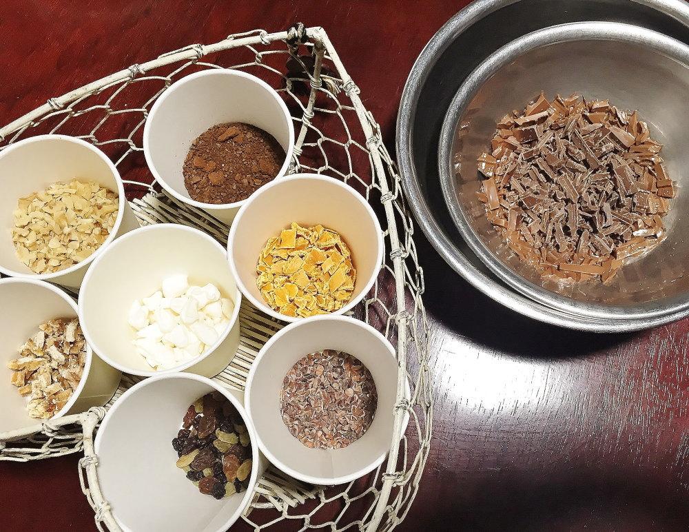 チョコレートサラミ 材料