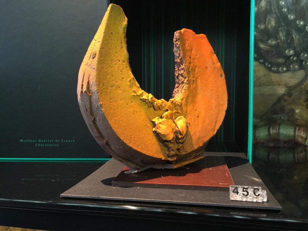 パトリックロジェ(Patric Roger)チョコレート彫刻 かぼちゃ