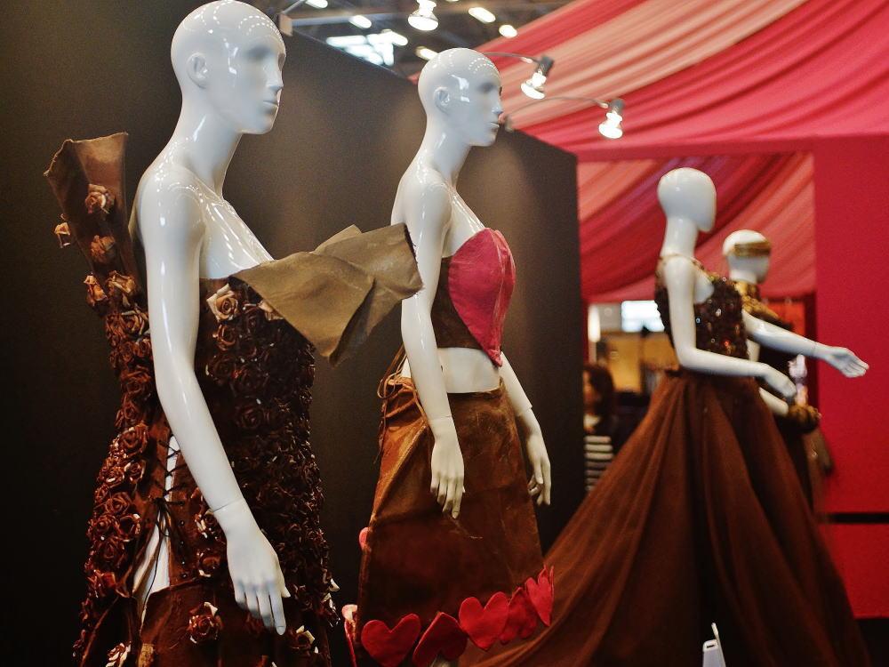 サロンデュショコラ ファッションショー