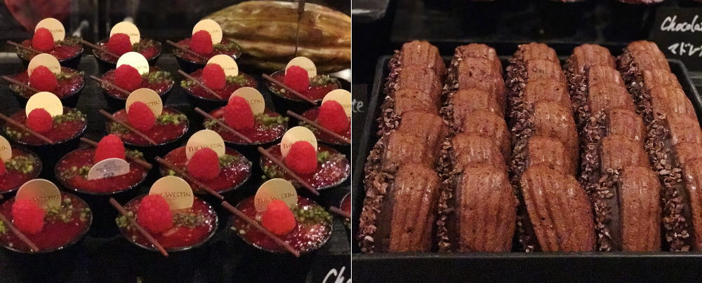 ワールドチョコレート・デザートブッフェ 種類