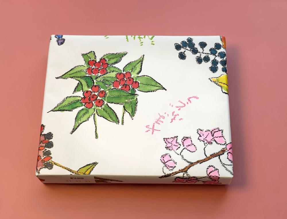 六花亭の包装紙