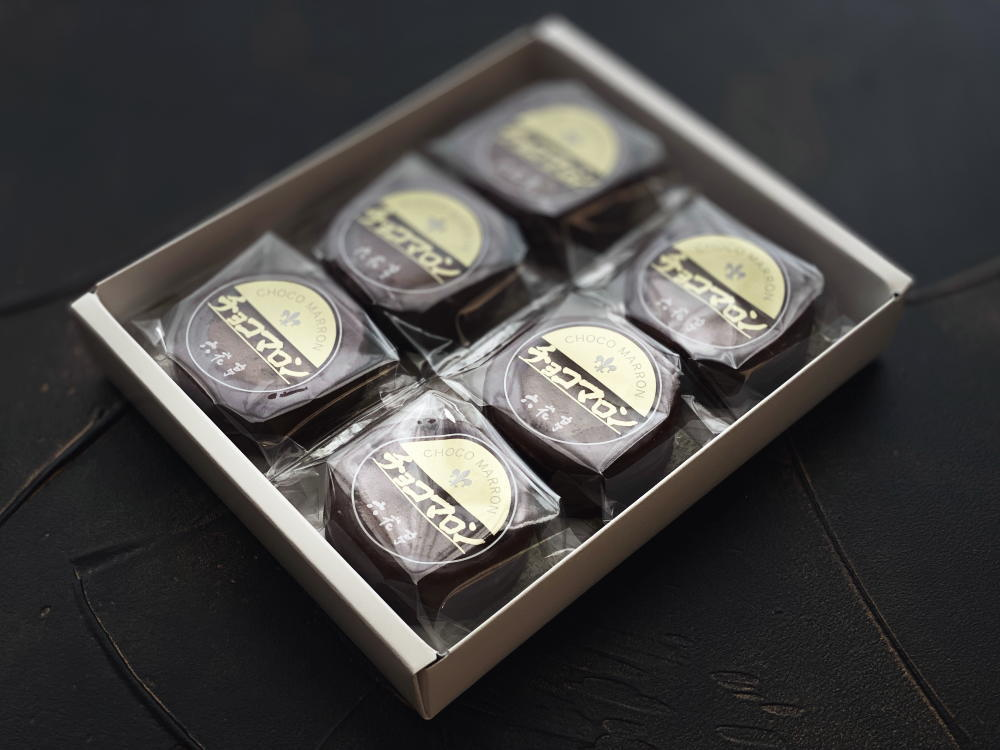 チョコマロン6個入り