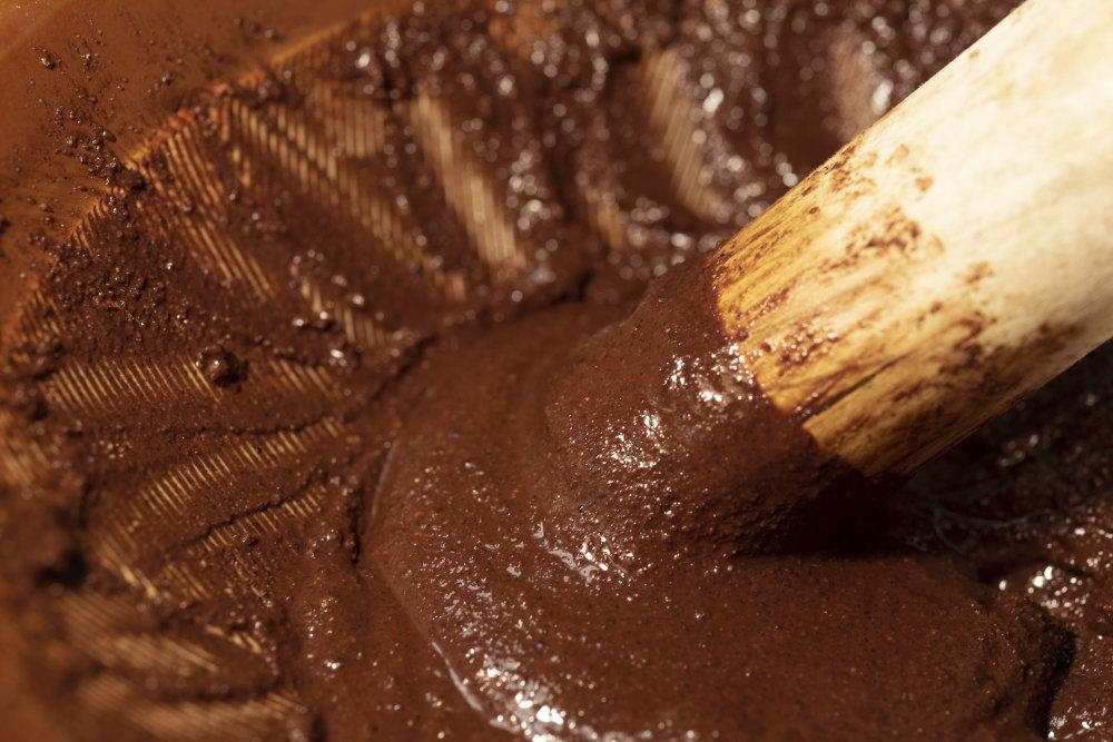 カカオ豆からチョコ作り カカオマス