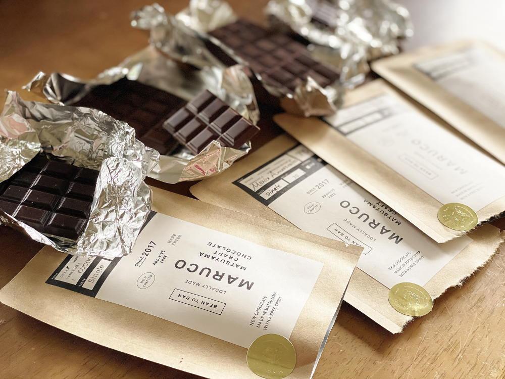 マルコ松山クラフトチョコレート ビターチョコレート