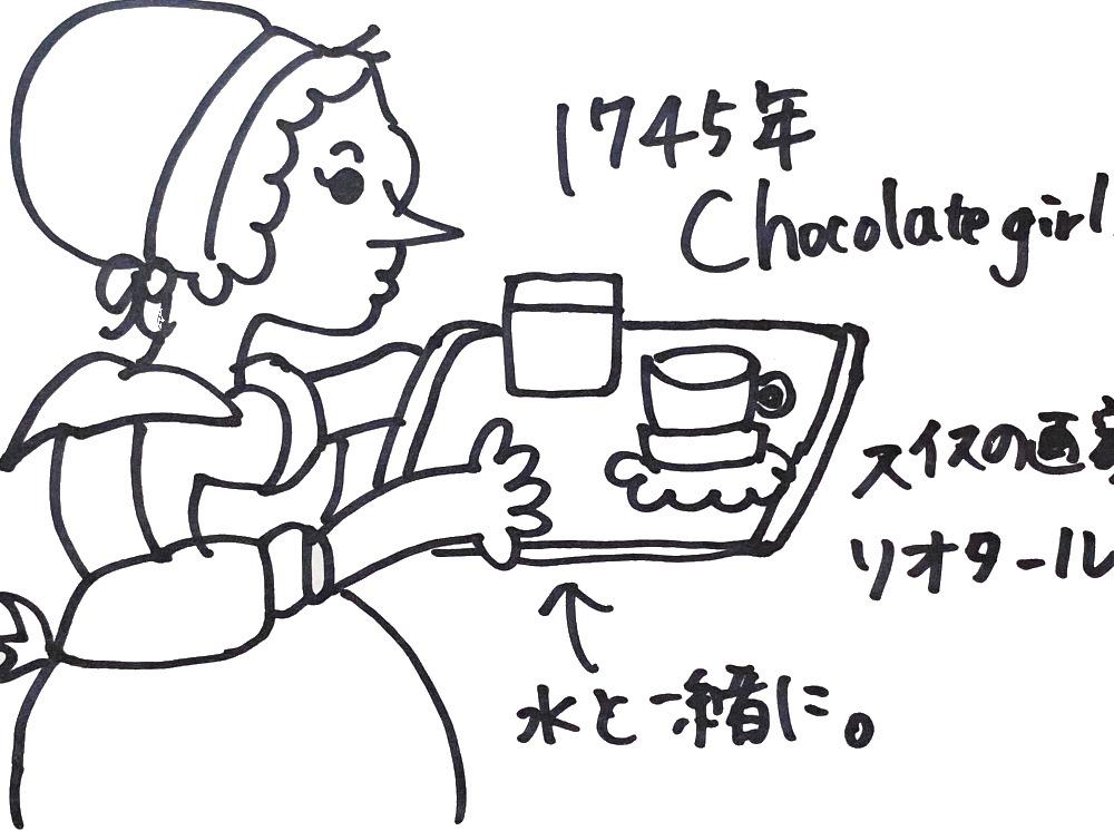 1745年 チョコレートガール