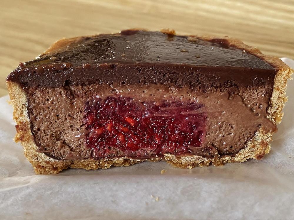 木苺とチョコムース 食べてみた