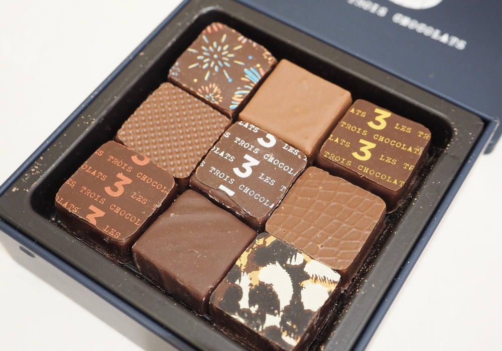 Les Trois Chocolats アソート