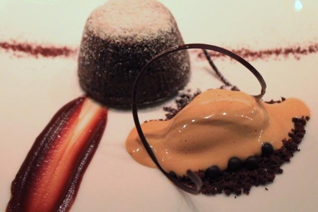 ジャンジョルジュ東京 チョコレートプレート