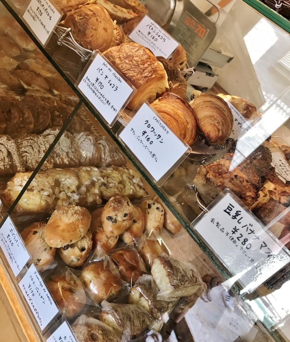 カタネベーカリー パンの種類