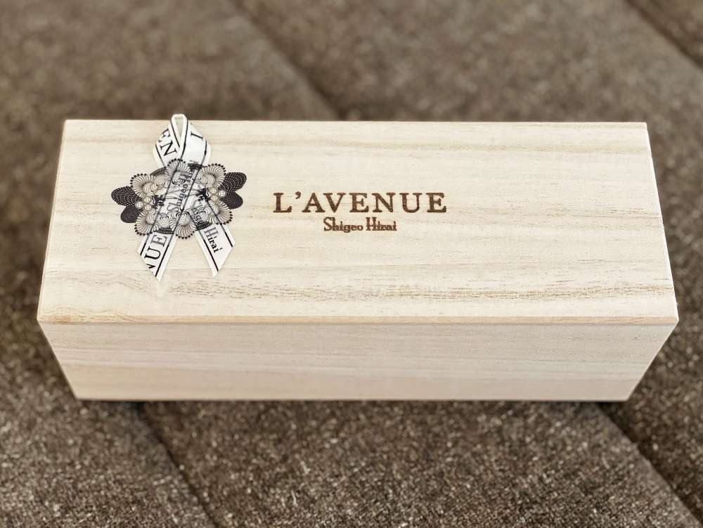ラヴニューの木箱