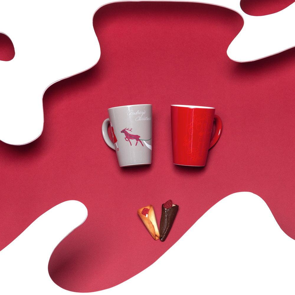 オードリーマグカップ(赤)