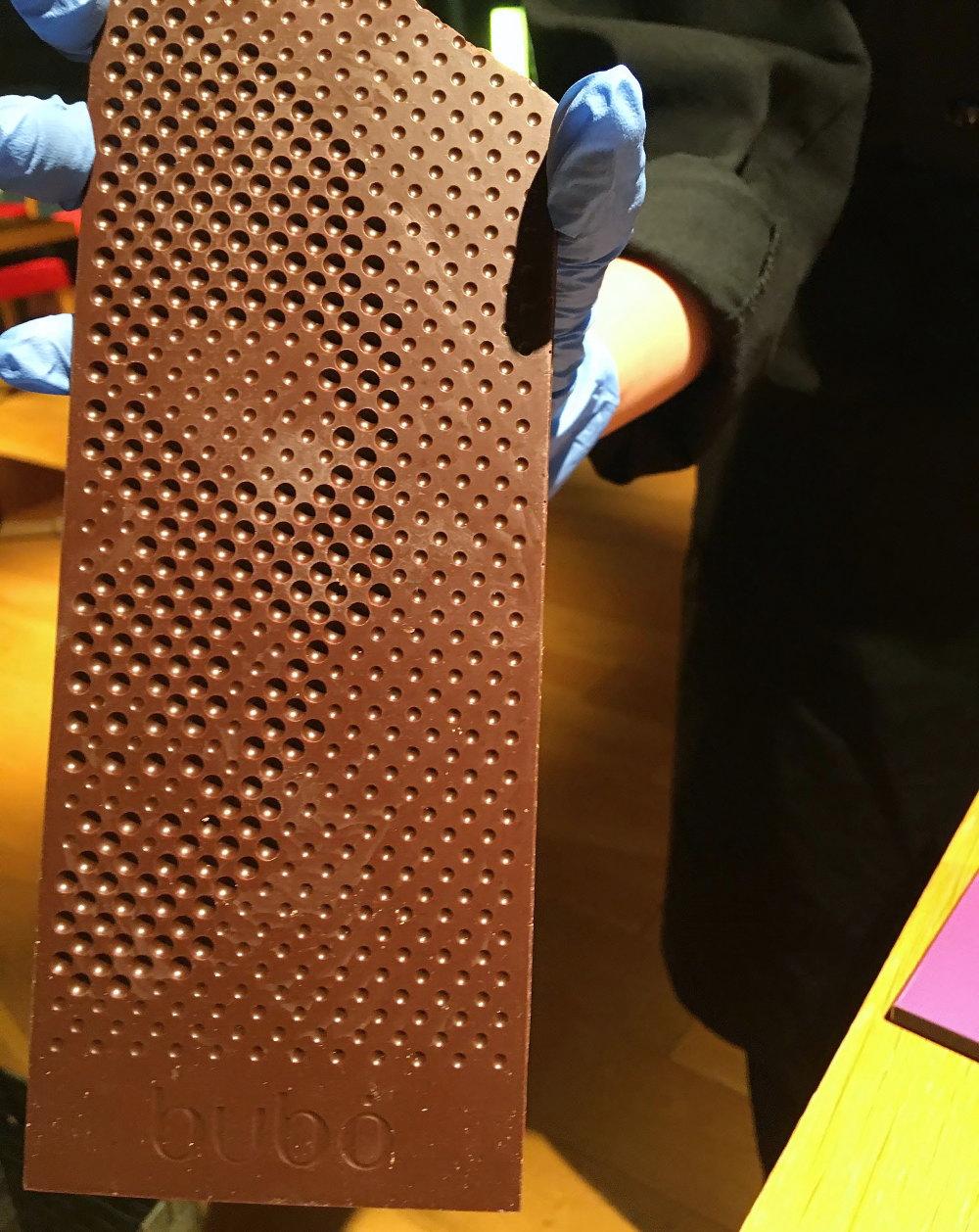 ブボバルセロナのチョコレートバー