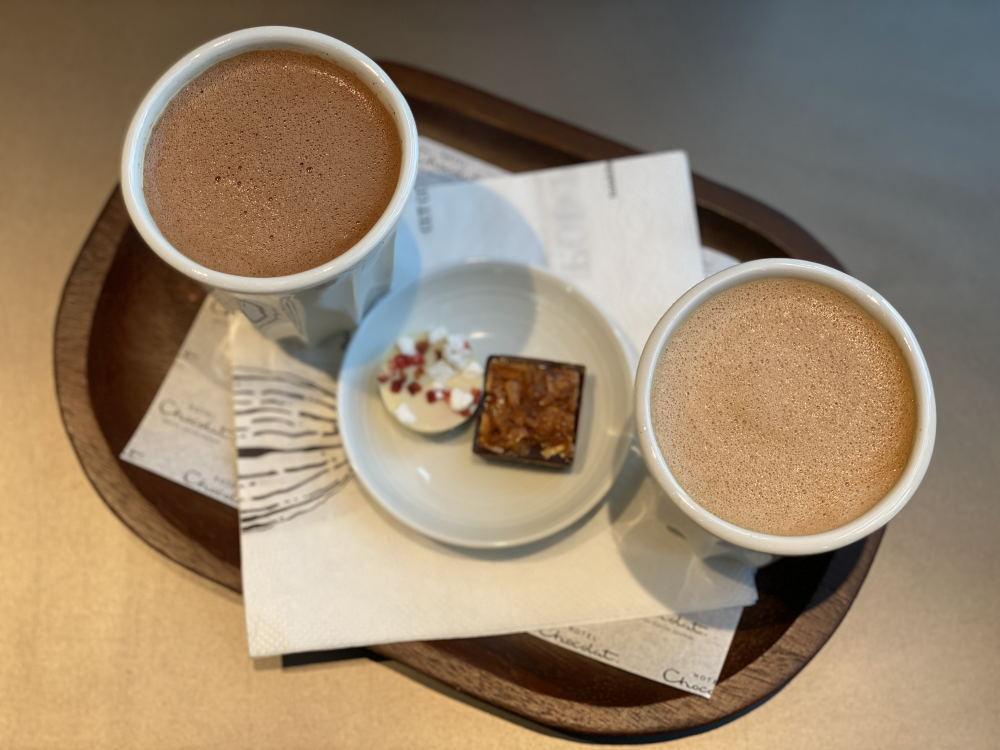 ホテルショコラのホットチョコレート