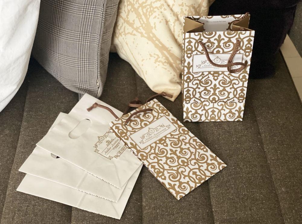 アトリエアニバーサリー ショッパー 紙袋