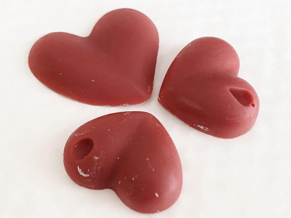 ハート型苺チョコ