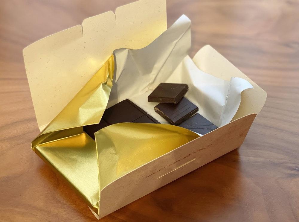フォッサチョコレート タブレット 中身