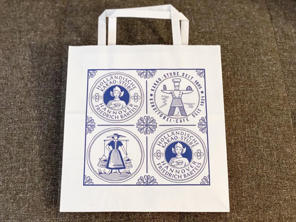 ホレンディッシェ・カカオシュトゥーベ ショッパー 紙袋