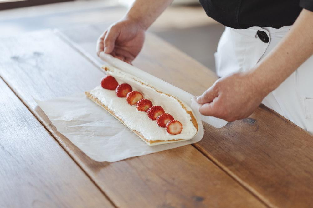 和乃果 ロールケーキ
