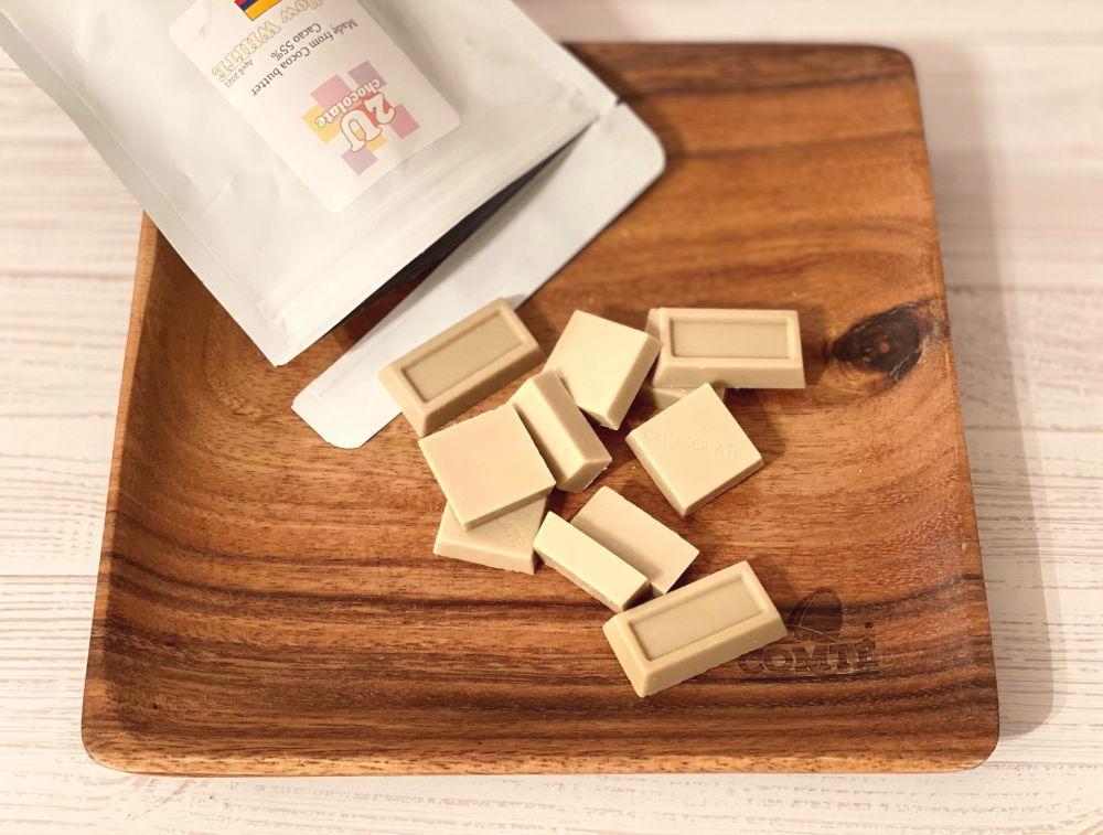 2uchocolate ホワイトチョコ 味