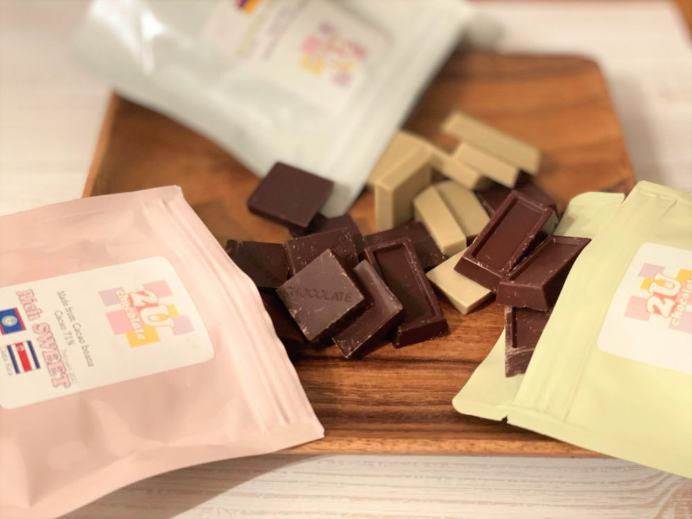 2Uチョコレート 3種類食べてみた