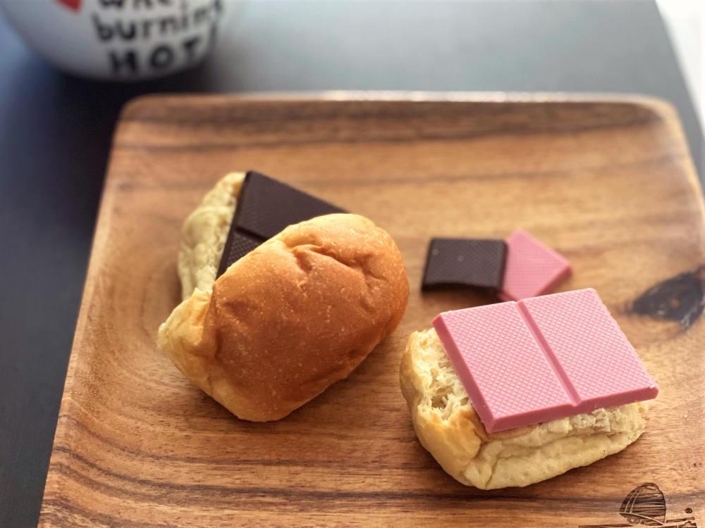 パンとチョコレート