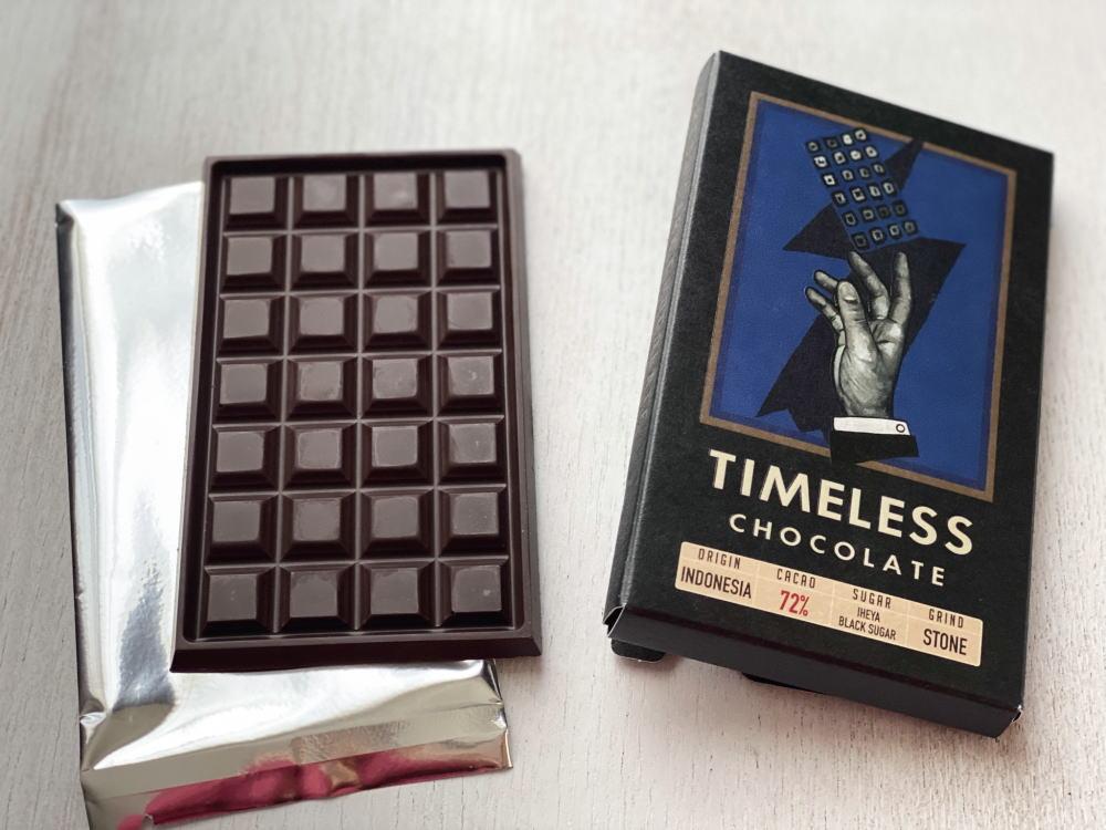 タイムレスチョコレート インドネシア72%
