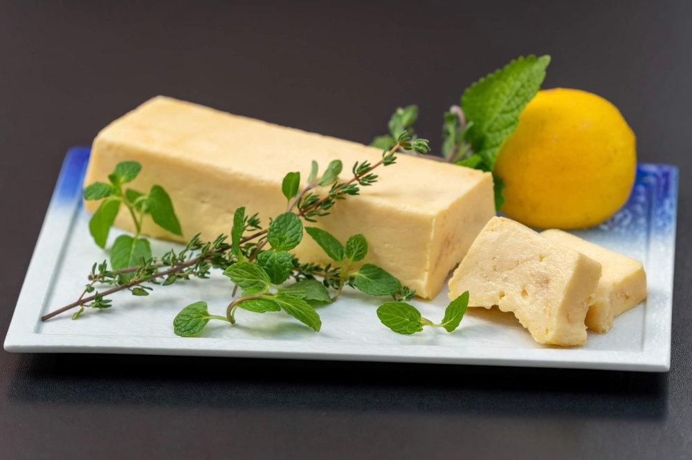 レモンハーブのチーズケーキ