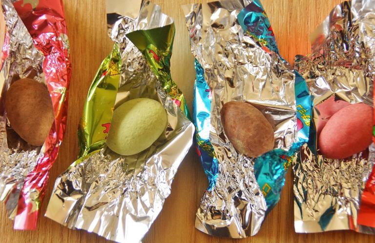 呼吸チョコの種類