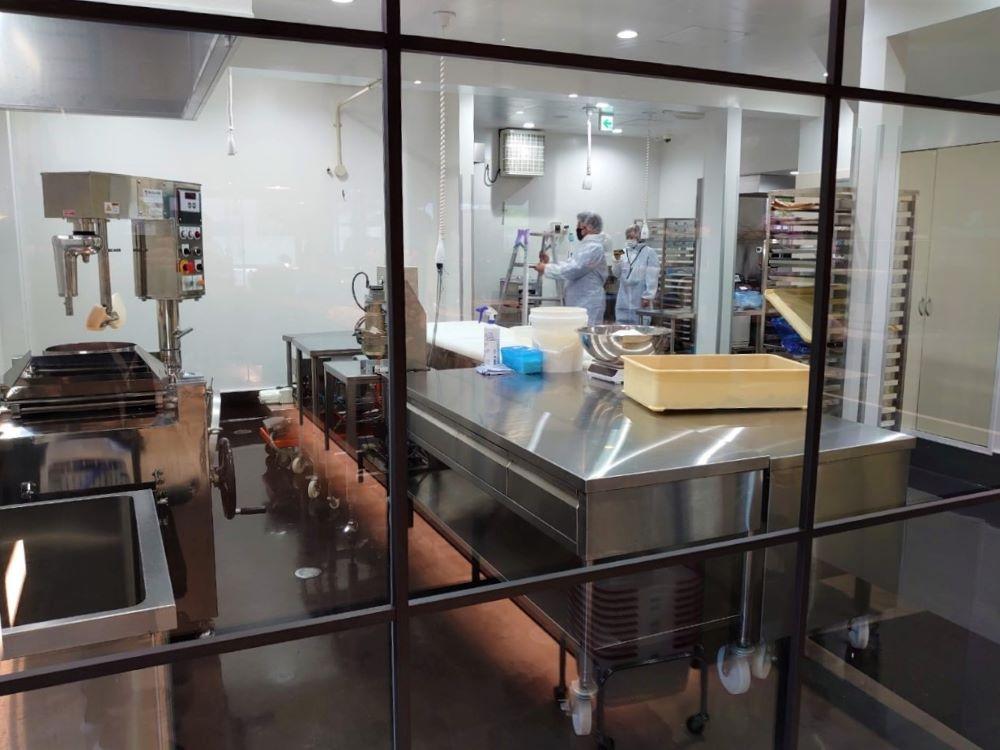 サダハルアオキ アトリエ軽井沢 店内の様子 コンフィチュール工房
