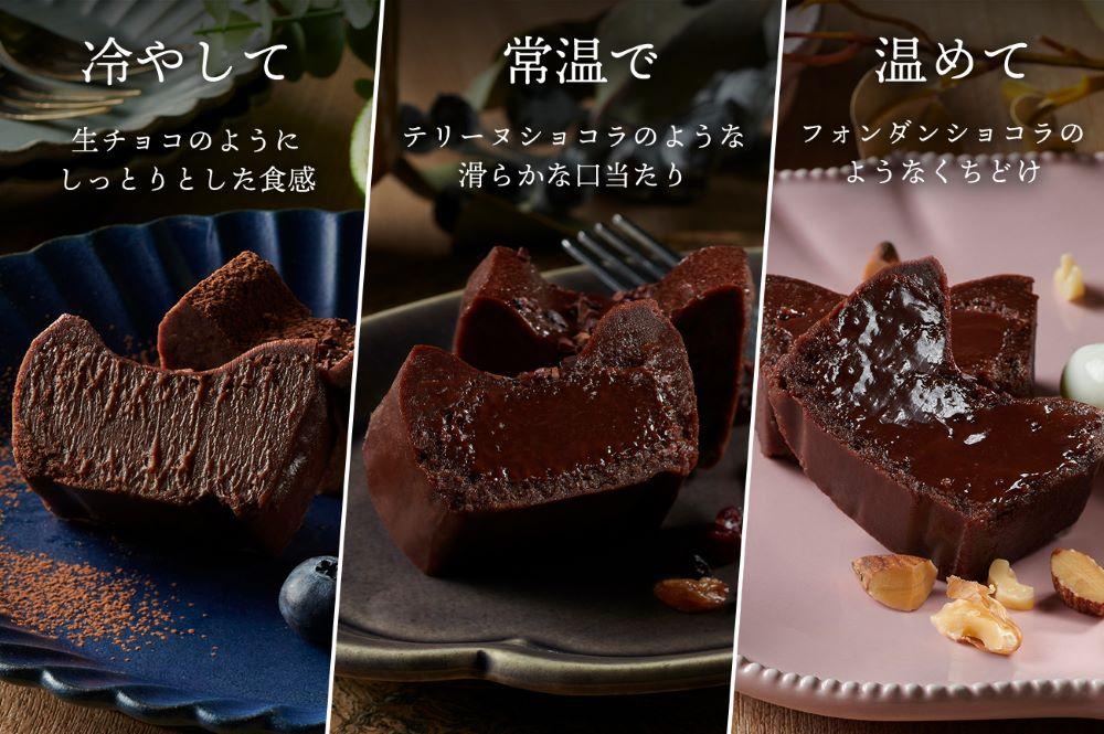 セルジョ 生ガトーショコラ 食べ方