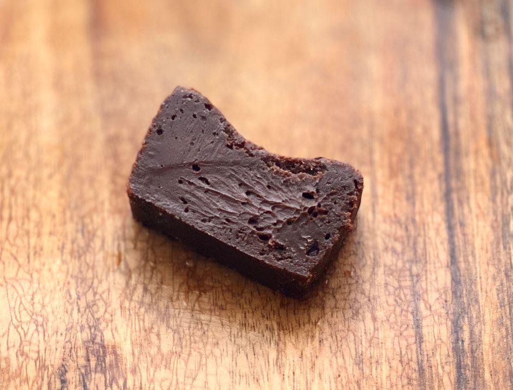 sergio 熟成生ガトーショコラ 食べてみた