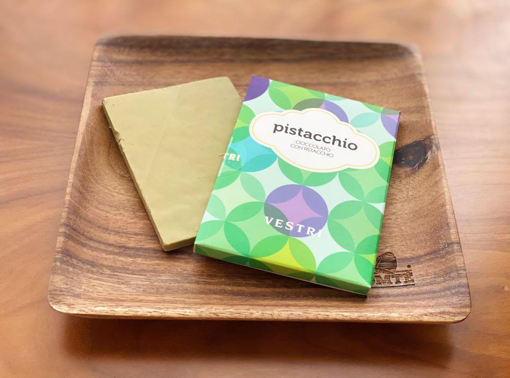 ピスタチオの板チョコ