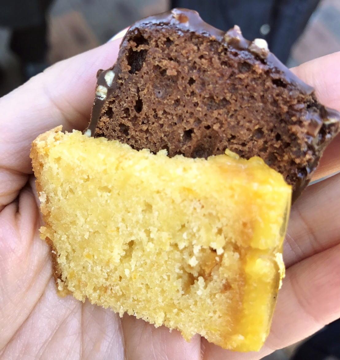 アルノーラエール チョコとオレンジケーキ