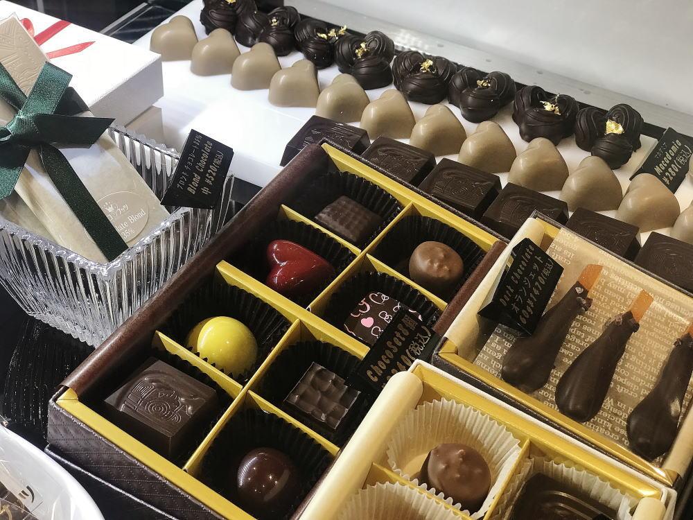 銀座チョコナッツ ボンボンショコラの種類