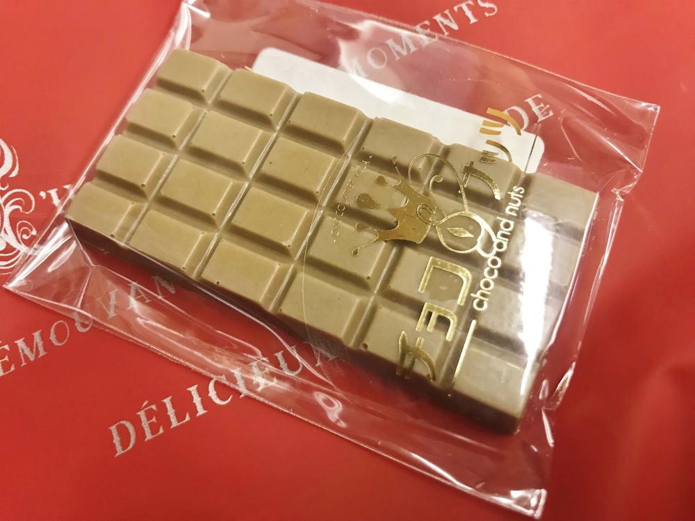 チョコナッツのブロンドタブレット
