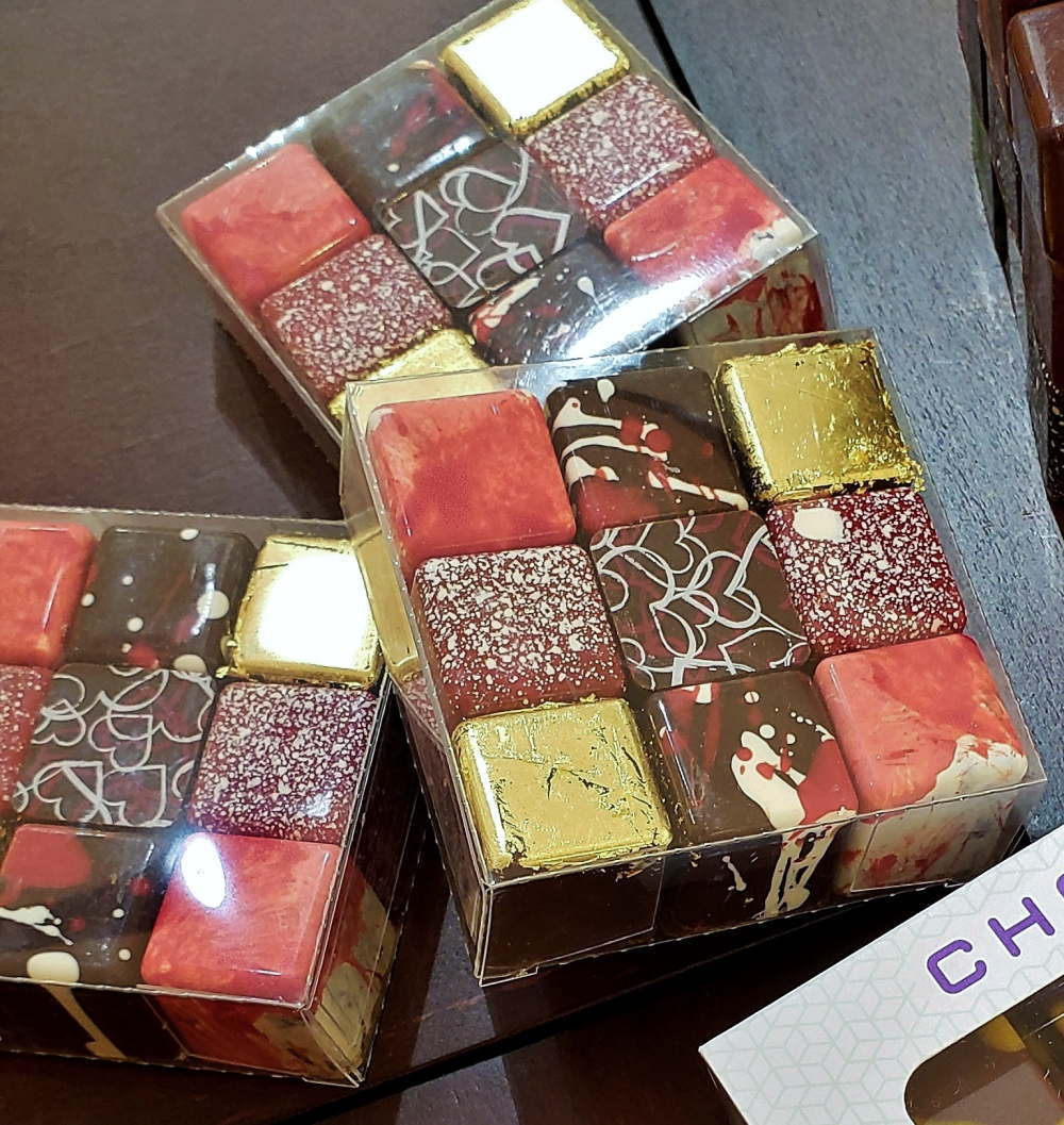 ショコオキャレ キューブ型のショコラアソート