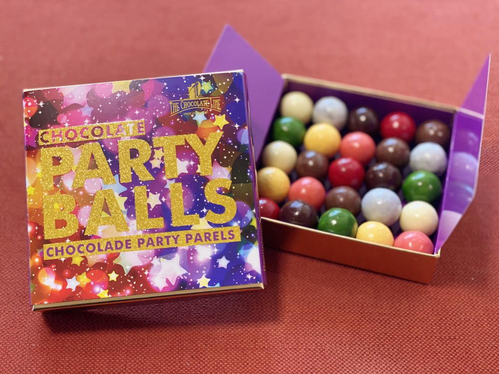 チョコレートラインのパーティーボール