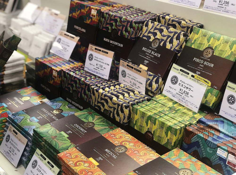 チョコレートツリー ビーントゥバーの種類