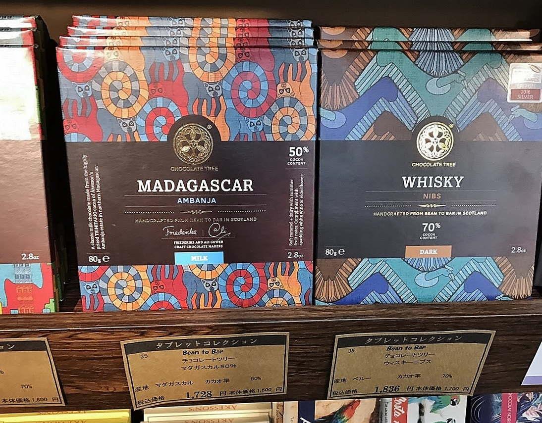 チョコレートツリー ウイスキー、マダガスカル