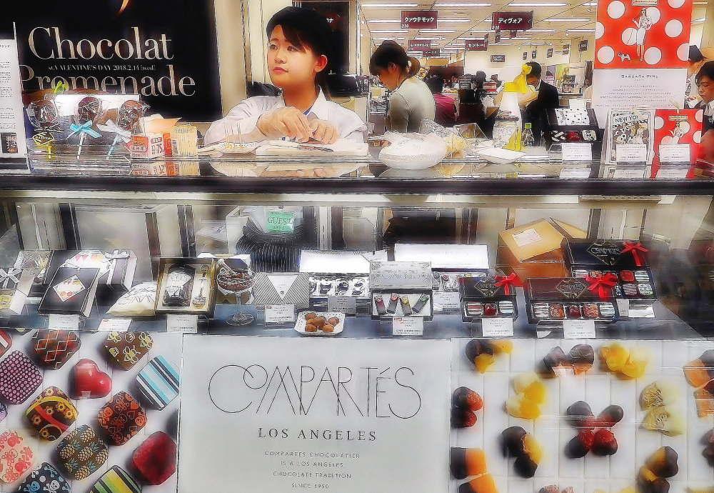 コンパーテスショコラティエの店舗