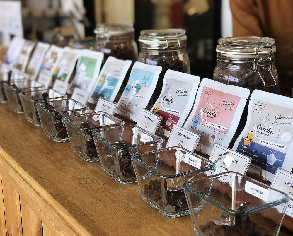 コンチェ 板チョコの種類 試食