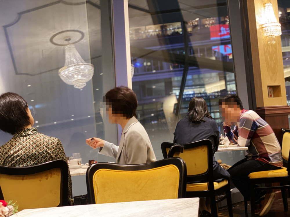 cova渋谷スクランブルスクエア 店内の様子