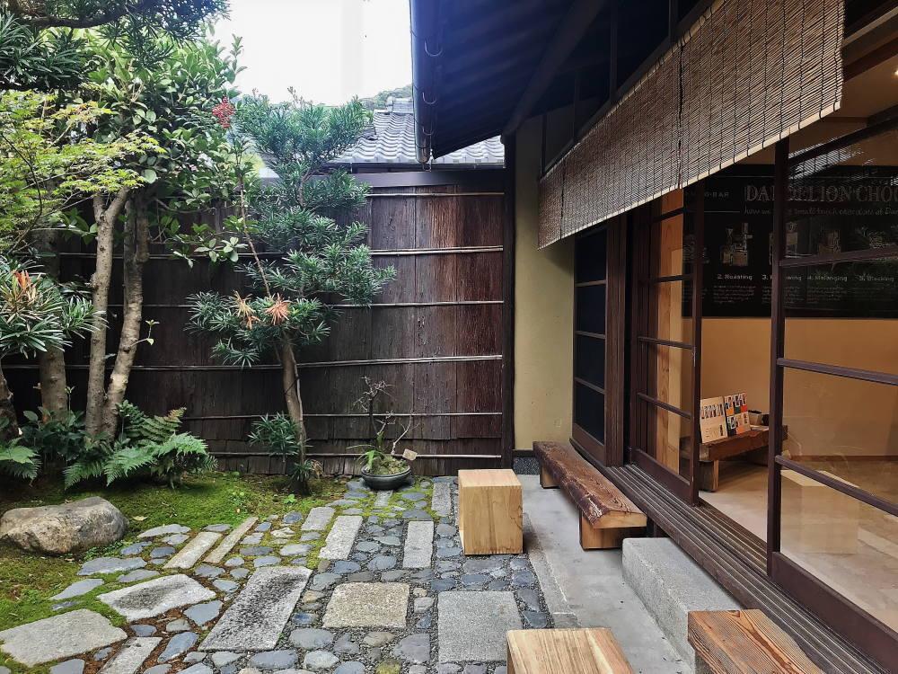 ダンデライオン京都 町屋風カフェ