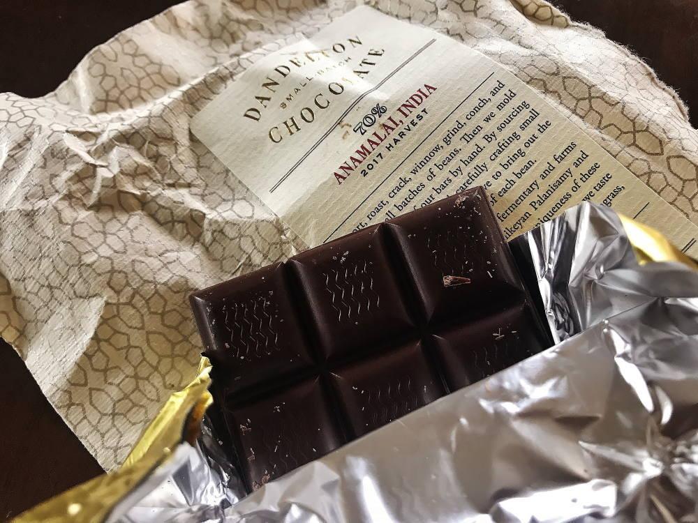 ダンデライオン板チョコ インド